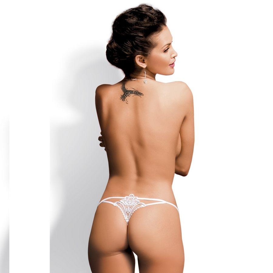 Obsessive Luiza Thong Blanco
