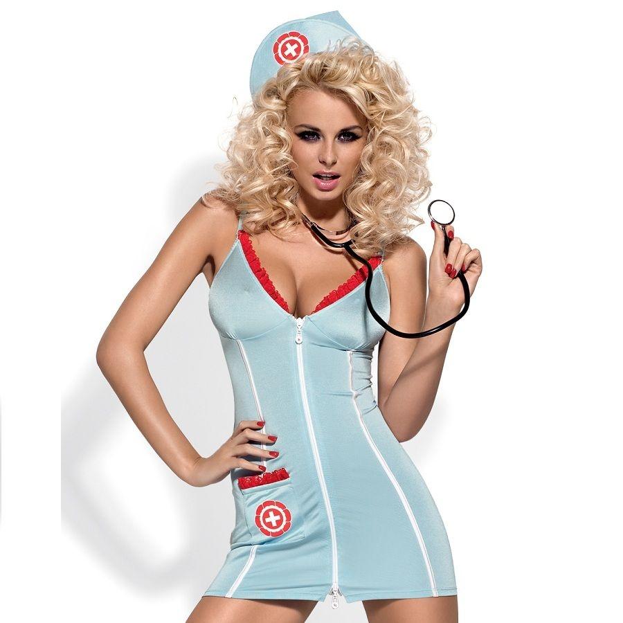 Obsessive Disfraz Vestido Doctora