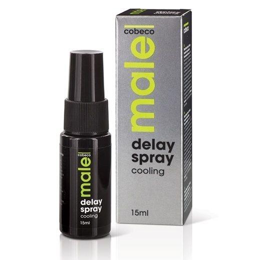 Male Spray Retardante Efecto Enfriamiento para el