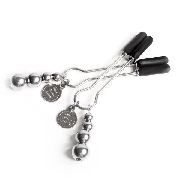 Pinzas Ajustable para Pezones Fifty Shades Of Grey