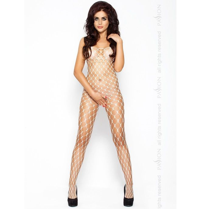 Passion Eroticline Catsuit Blanco Bs001