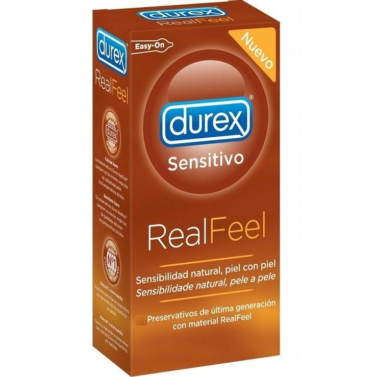 Preservativos Durex Real Feel 24 Unidades