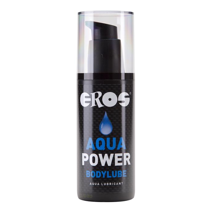 Lubricante Base Agua Aqua Power 125 ml Eros