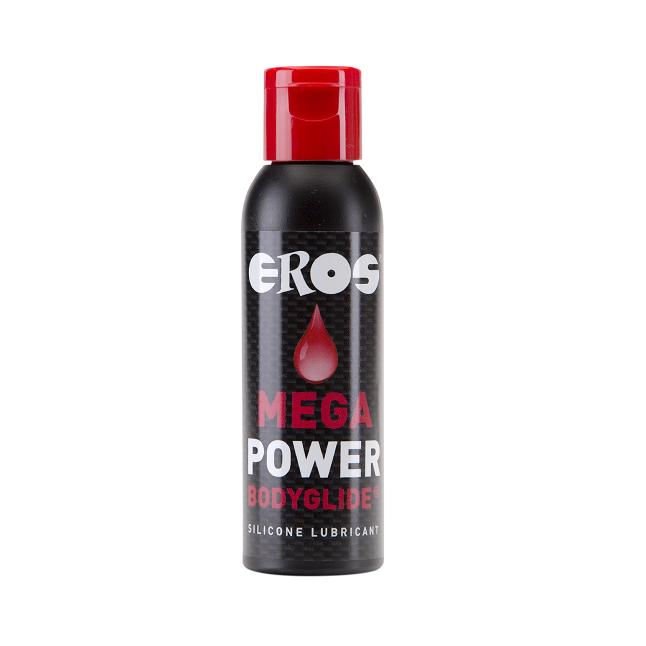 Lubricante Base Silicona Mega Power 50 ml Eros