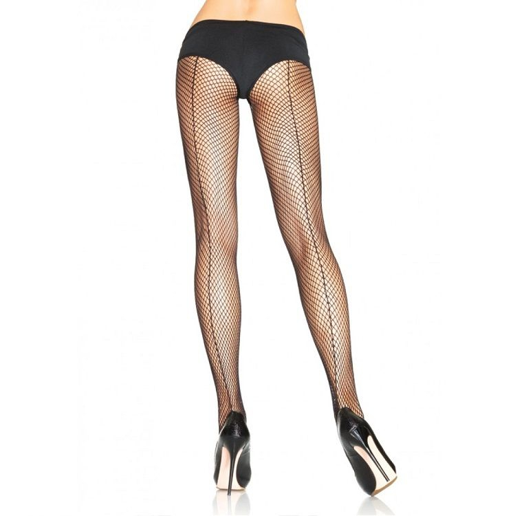 Leg Avenue Panties de Rejilla con Costura