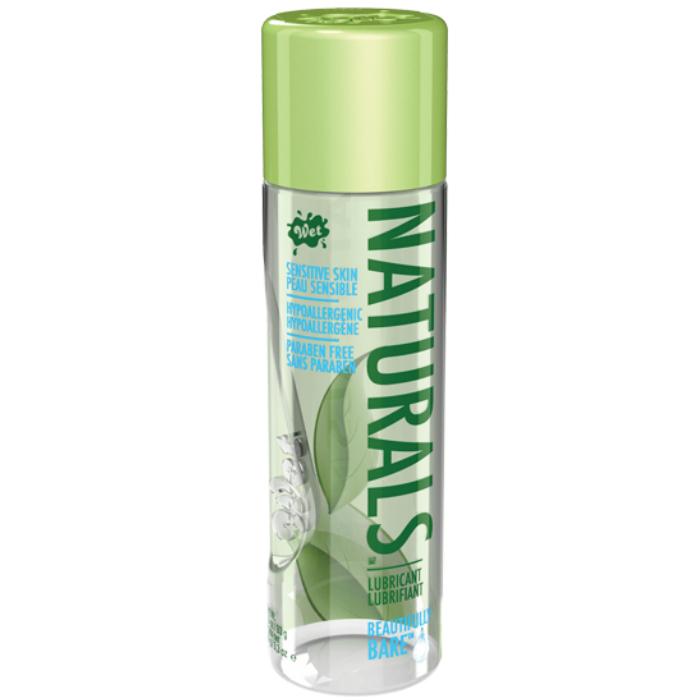 Wet Naturals Lubricante Natural Base Agua con Aloe Vera 93gr