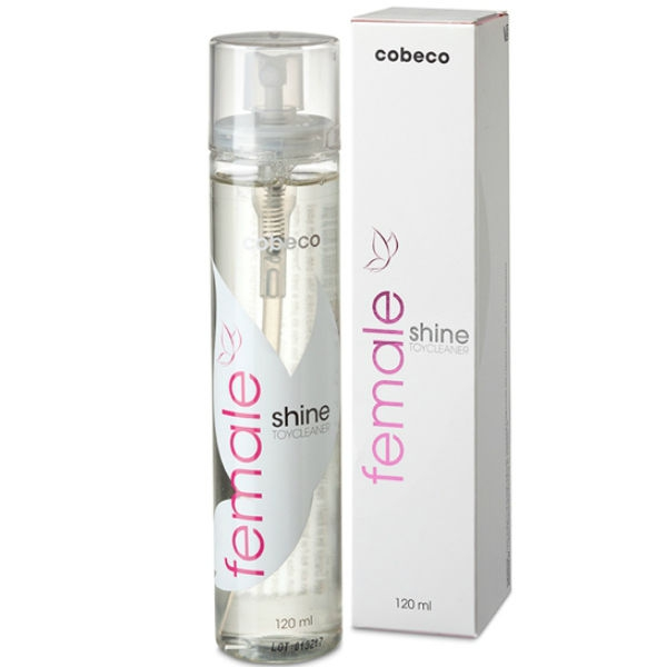 Cobeco Female Toycleaner Limpiador Juguetes 120ml