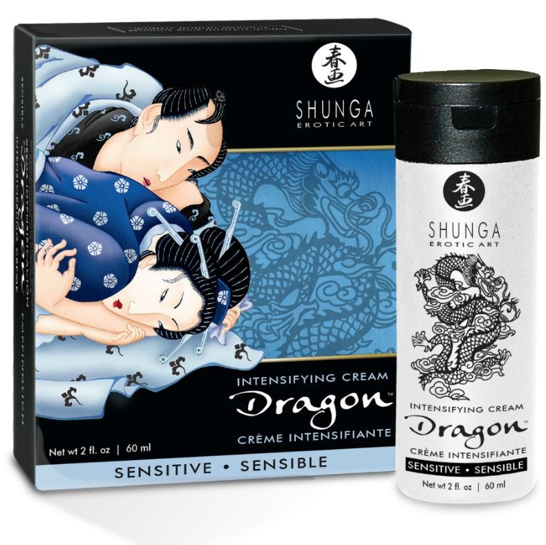 Dragon Crema Sensitive para Parejas
