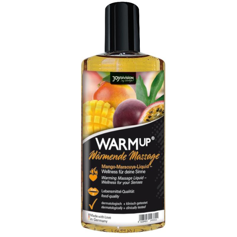 Warmup Aceite de Masaje Mango+Maracuya 150 ml