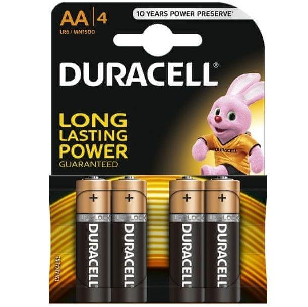 Duracell Basic Pila Alcalina Aa Lr6 Blister*4