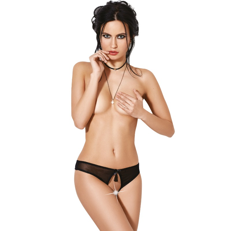 Le Frivole - 04320 Panties con Abertura