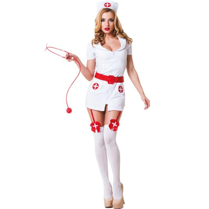 Le Frivole - 02210 Disfraz Enfermera 3 Piezas