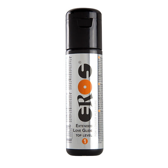 Lubricante Base Agua Extended Top Level 1 100 ml Eros