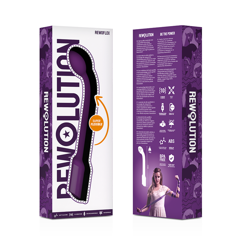 Rewolution Rewoflex Vibrador Estimulador Punto G Flexible 7