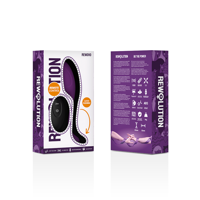 Rewolution Rewovo Huevo Vibrador Control Remoto 8