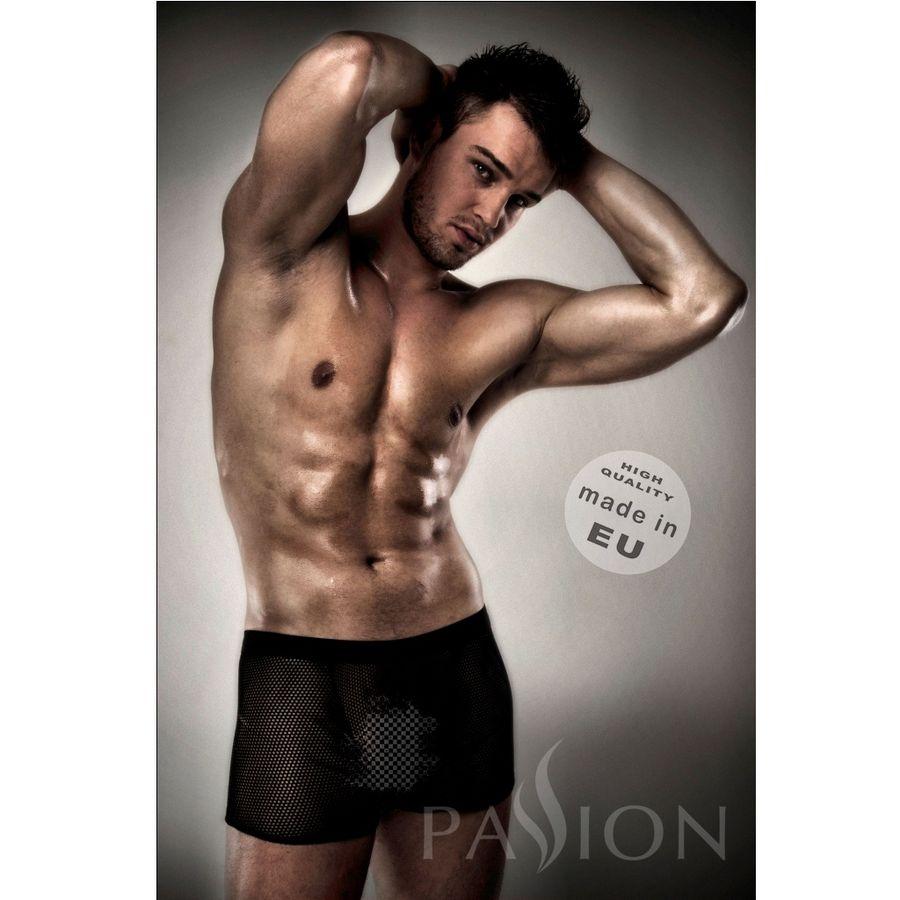 Passion 004 Men Red Lingerie Black 1