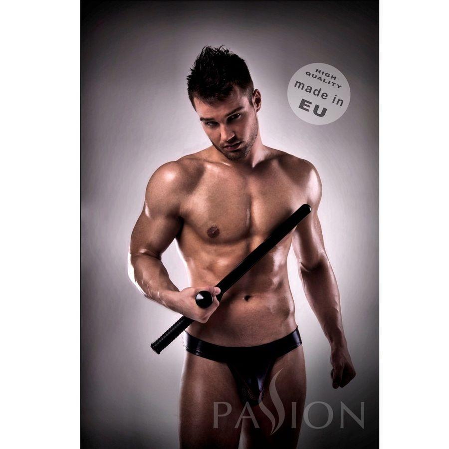 Jockstrap 008 Black Leather Passsion Men Lingerie 1