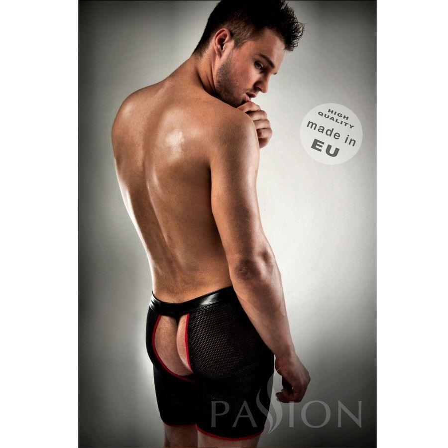 Boxer / Tanga 012 Erotic Negro en Red By Passion 2
