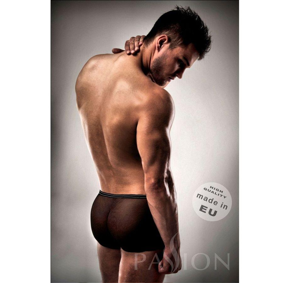 Boxer Negro 025 Transparente By Passion Men 2
