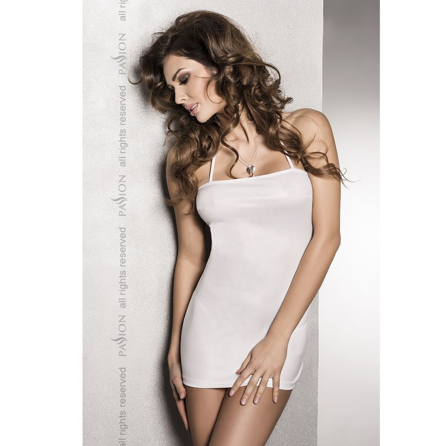 Vestido Blanco Beltis By Passsion 1