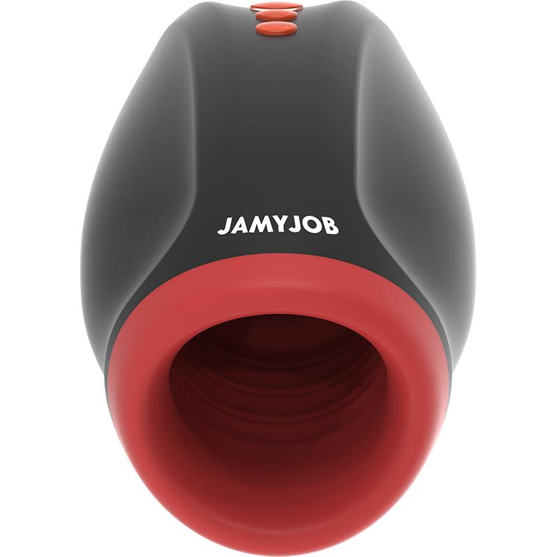 Jamyjob Novax Masturbador con Vibracion y Compresión 1