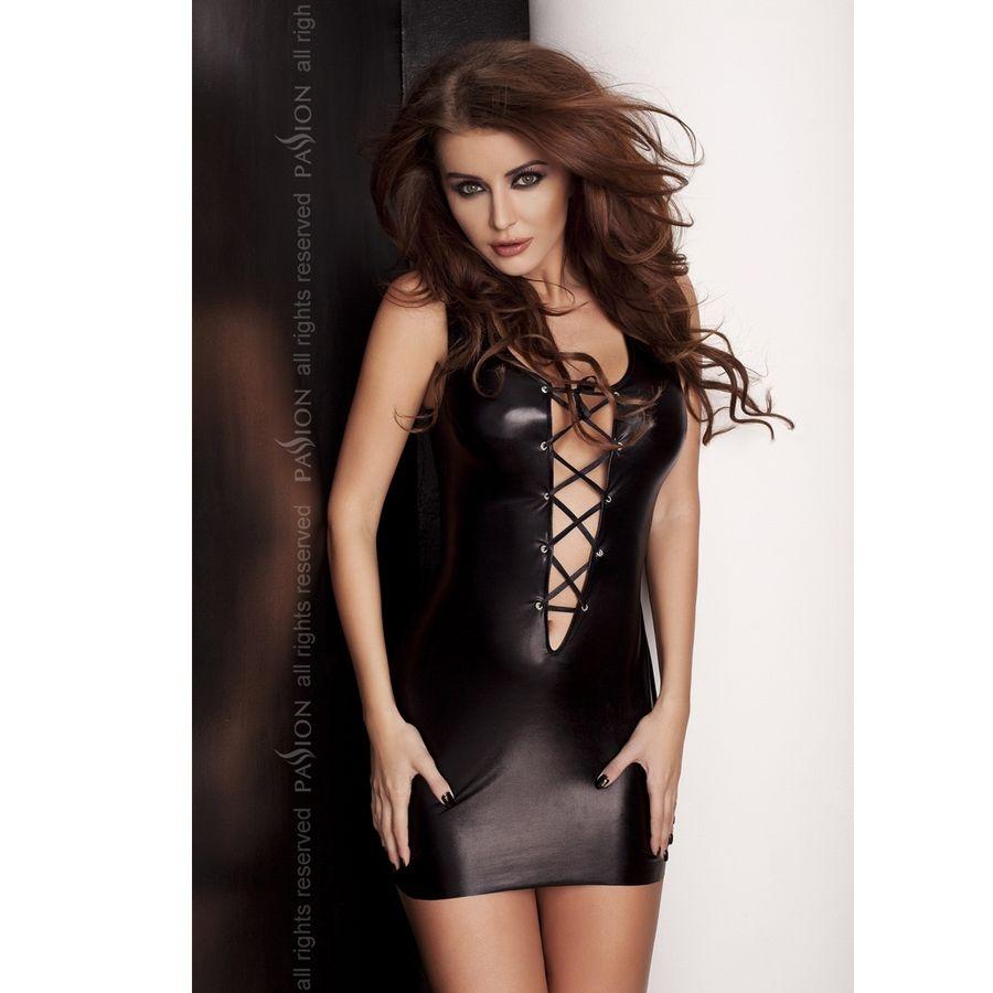 Lyzzy Vestido Negro By Passion 1