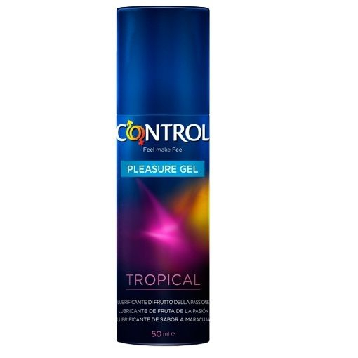 Gel Lubricante Control Sabor Tropical 50ml 1