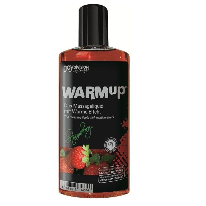 Aceite de Masaje Efecto Calor Fresa 150ml 1
