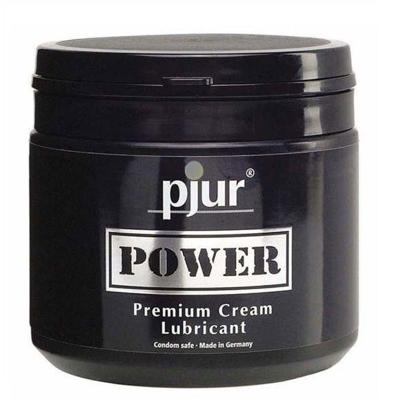 Pjur Power Premium Cream Personal Lubricant 500 ml 1