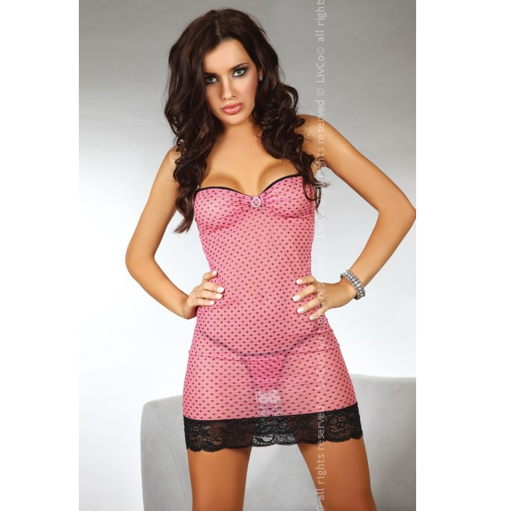 Maricel Babydoll Pink Clear 2