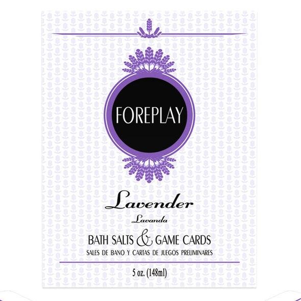 Foreplay Sales de Baño y Cartas de Juegos 1
