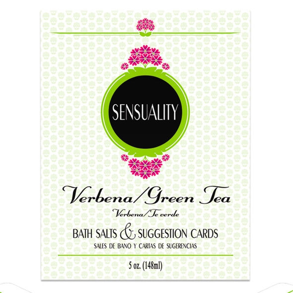 Sensuality Sales de Baño y Cartas de Sugerencias 1