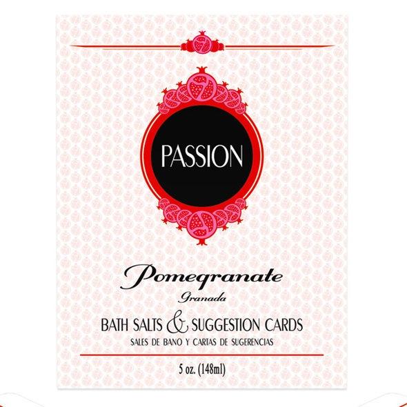 Passion Sales de Baño y Cartas de Sugerencias 1