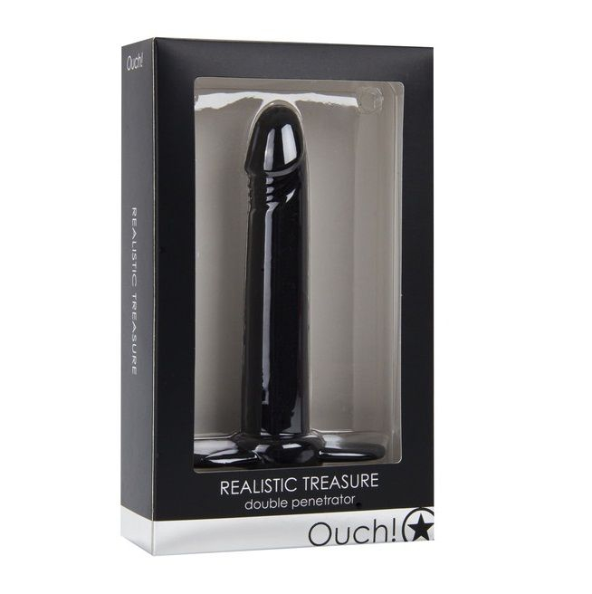Ouch Doble Penetracion Realistic 4