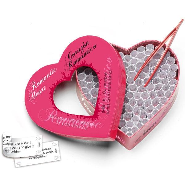 Juego Corazón Romántico Picante 1