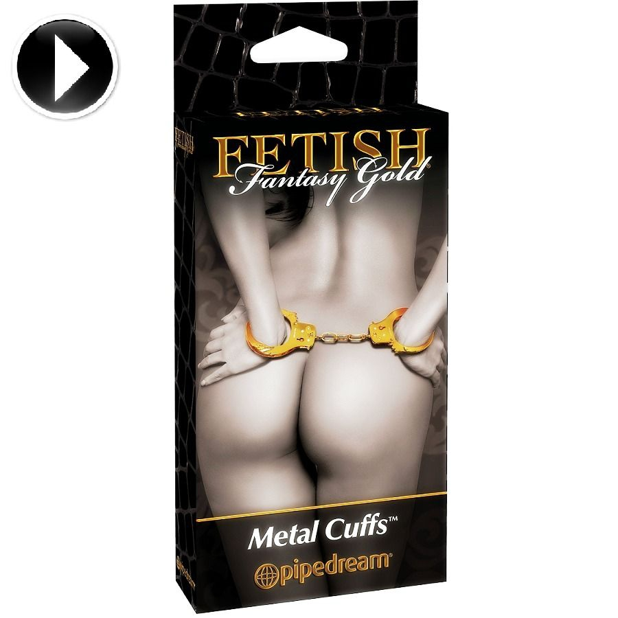 Fetish Fantasy Gold Esposas de Metal 2