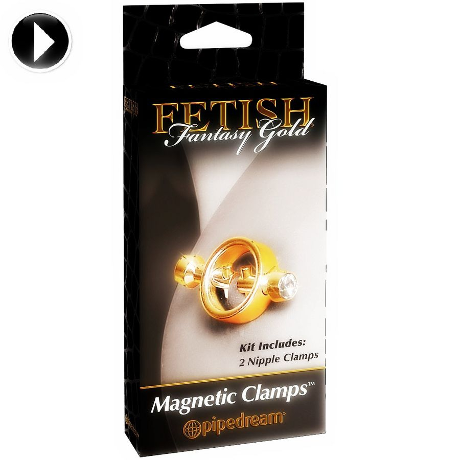 Fetish Fantasy Gold Pinzas para Pezones 4