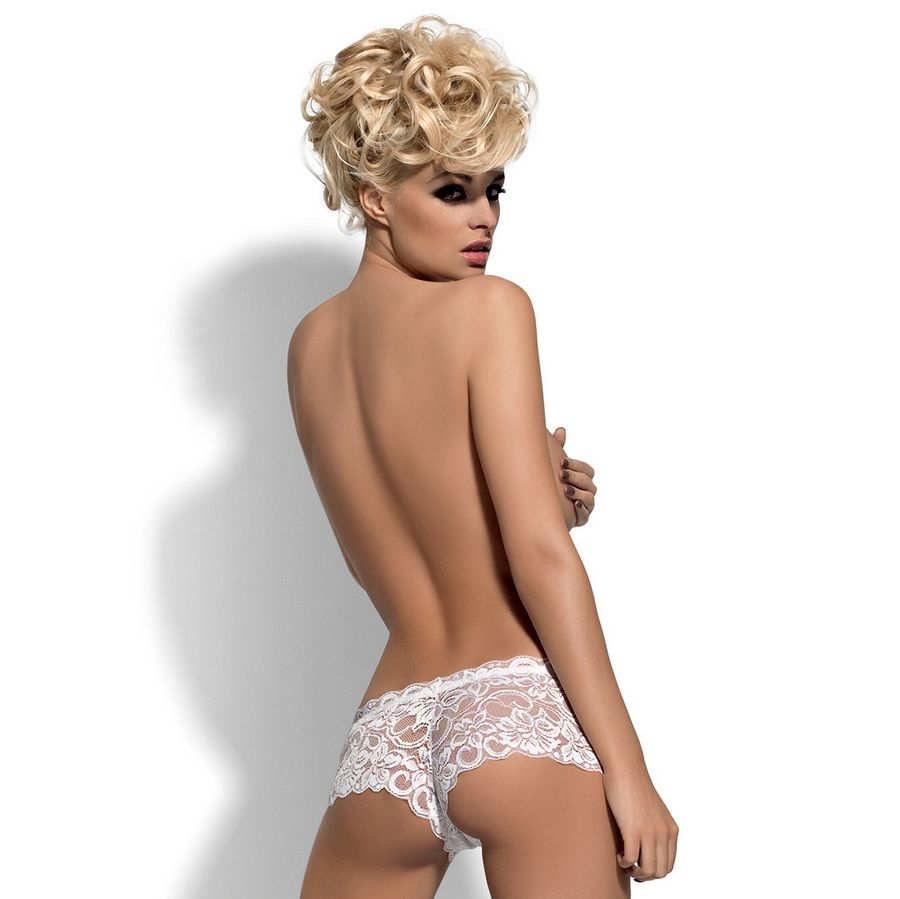 Obsessive Shorties Bloom Blanco  2