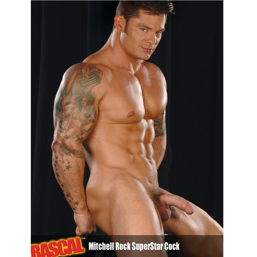 Mitchell Rock Pene Real Pornstart 4