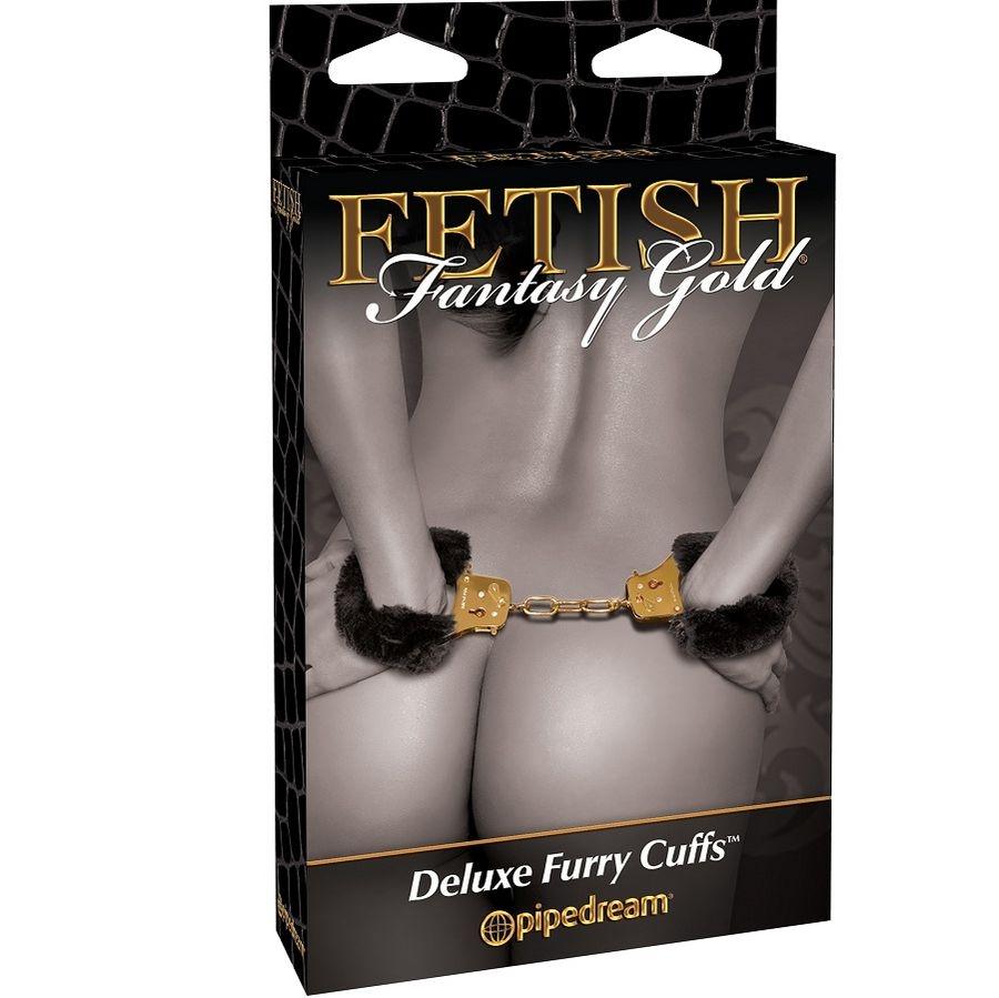 Fetish Fantasy Gold Esposas de Peluche 1