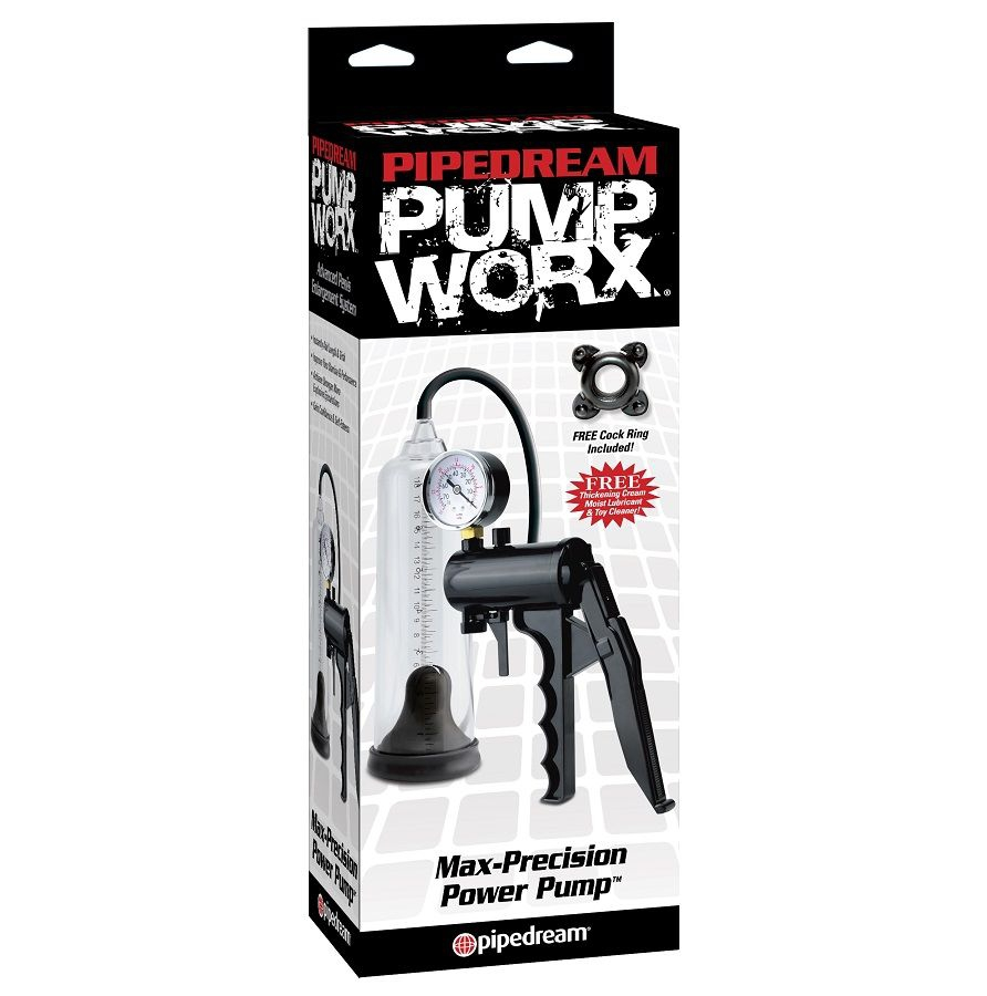 Pump Worx Bomba de Ereccion Maxima Precision 3