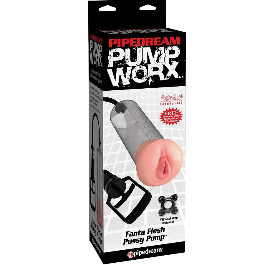 Pump Worx Bomba de Ereccion con Vagina 1