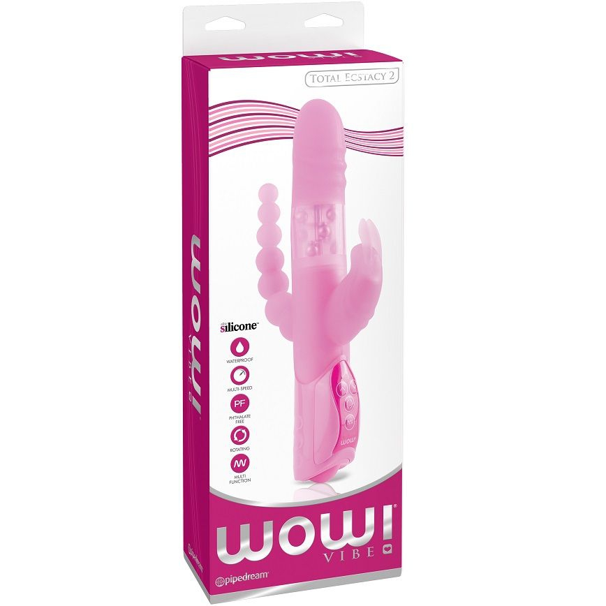 Wow Total Ecstasy Nr 2 Vibrador Triple 5
