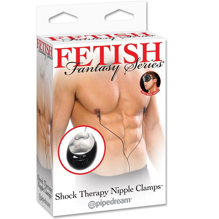Fetish Fantasy Shock Therapy Pinzas para Pezones 1