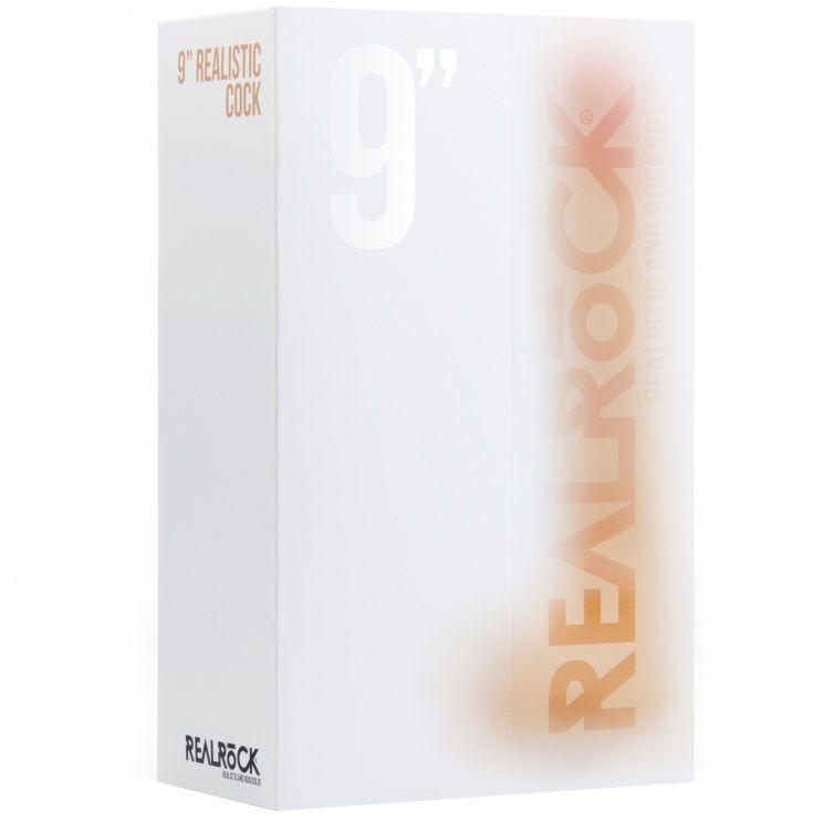 Real Rock 017 Dildo 100% Realistico 23.5 cm 1