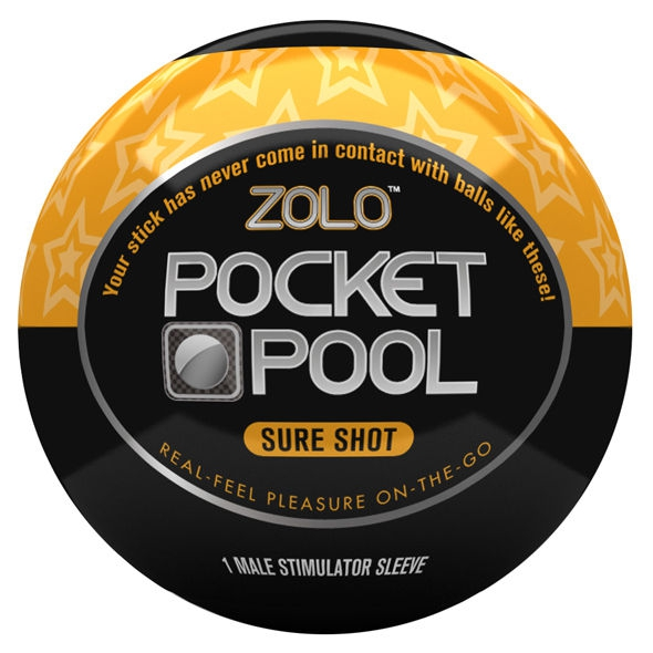 Zolo Pocket Pool Pack 6 Unidades 2