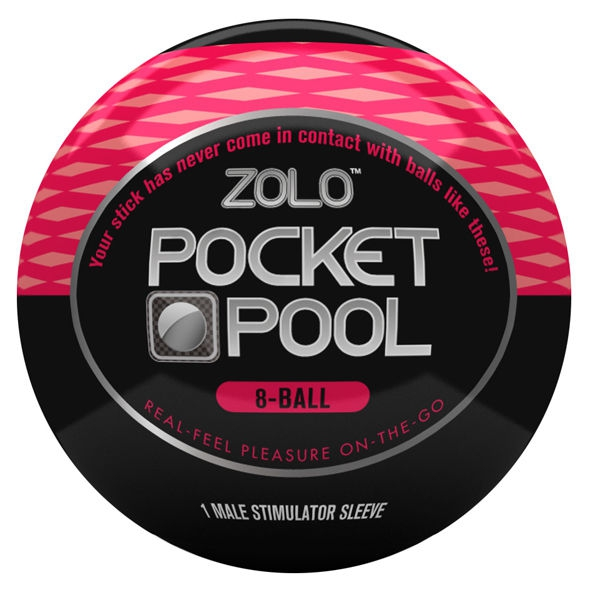 Zolo Pocket Pool Pack 6 Unidades 9