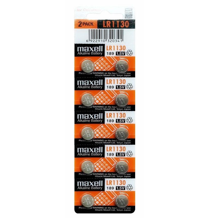 Lr1130 1,5v Bateria Alcalina Extrema Duración 1