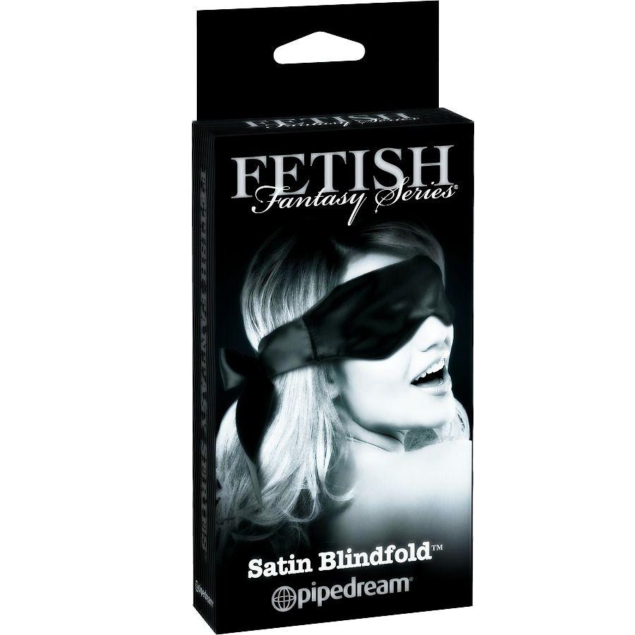 Fetish Fantasy Edicion Limitada Mascara Satinada Negra 1