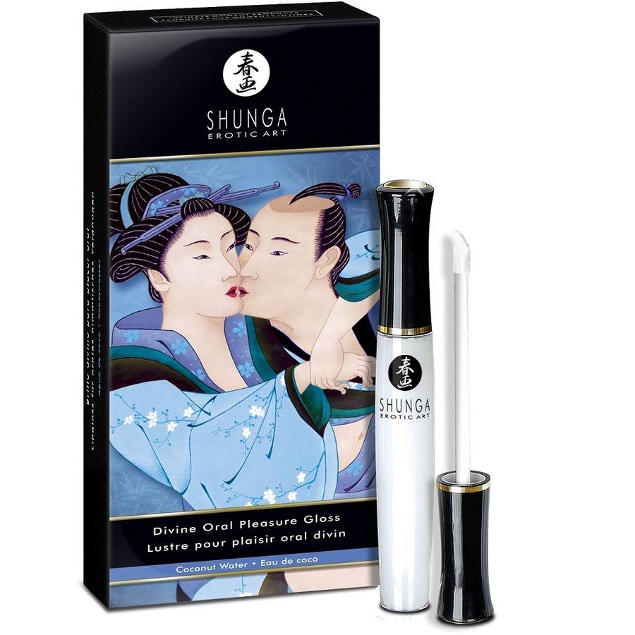 Shunga el Divino Arte Del Placer Oral Agua de Coco 1
